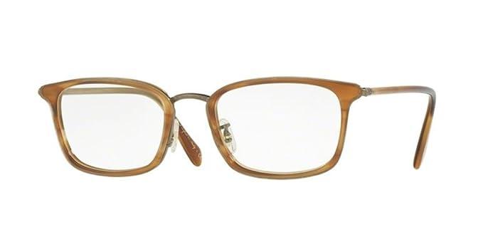 b57a6eb454 Amazon.com  Oliver Peoples - Brandt 1210 50 5260 - Eyeglasses (RAINTREE