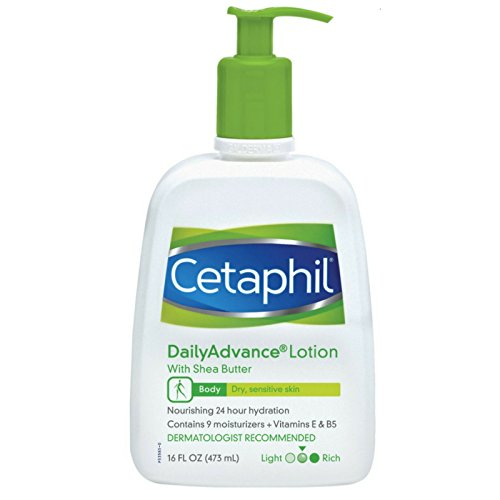 - Cetaphil DailyAdvance Ultra Hydrating Lotion for Dry/Sensitive Skin 16 oz (Pack of 4)