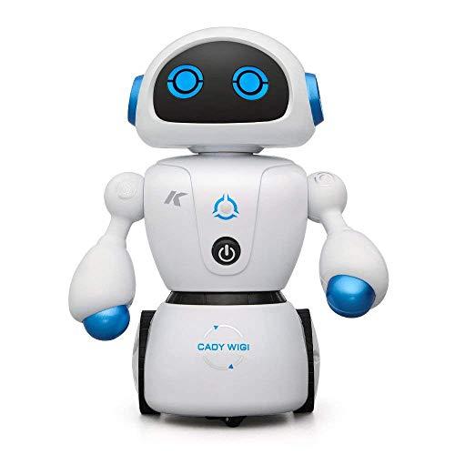 Aeeque R6 ラジコンロボット 知能ロボットミニ RCロボット リモコン制御 子供 おもちゃ 多機能 可愛い 踊る/音楽 JJR/C 迷路解決