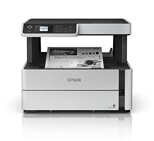 Epson EcoTank ET-M2170 Wireless Monochrome All-in-One Supertank Printer, Plus Ethernet