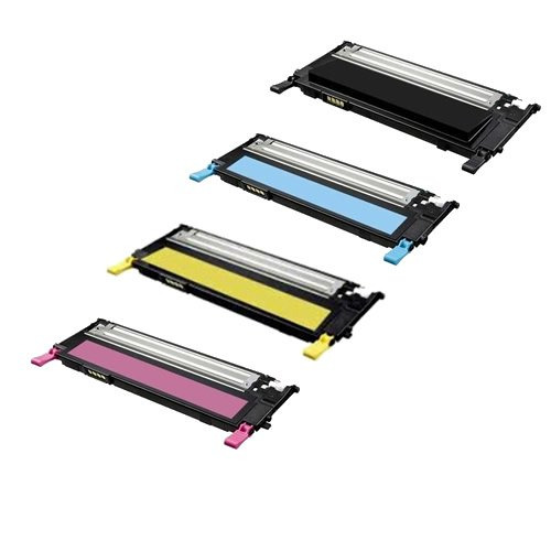 TonerBoss SAMCL409S4 Remanufactured Samsung 409 Toner Cartridges for CLP-310, CLP-315, CLX-3175FN (Pack of 4)