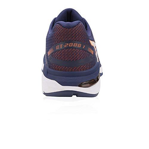 Azul Asics 400 Zapatillas Blue Hombre Orange De Para Gt Running indigo 2000 shocking 7 rOwtr8q