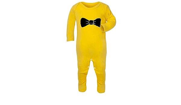 Traje de pingüino con pajarita Simple declaración bebé Grow ...