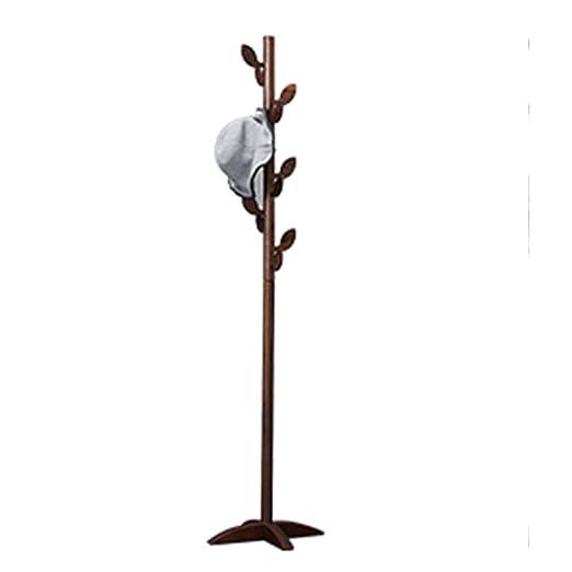 Xyanzi 186 cm Perchero de Madera de pie Soporte 12zchos ...
