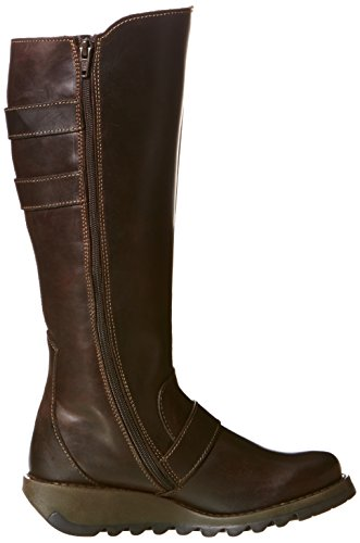 Black London Solv Fly Dark Boots Brown vRnz0Tq0