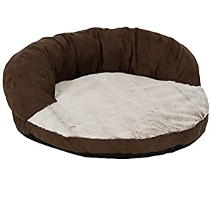 Dosckocil (Petmate) DDS26544 12-Pack Round High Back Dog Bolster Bed, 23-Inch