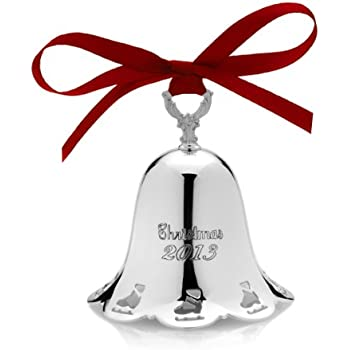 Towle 2013 34th Edition Silver-Plated Pierced Bell Ornament