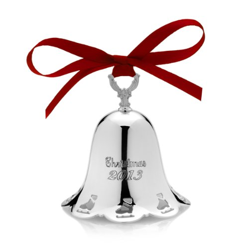 Towle 2013 34th Edition Silver-Plated Pierced Bell Ornament (Pierced Bell Ornament)