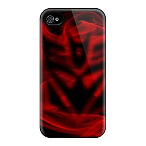 Ultra Slim Fit Hard LisaMichelle Case Cover Specially Made For Iphone 4/4s- Decepticon Smoke by supermalls