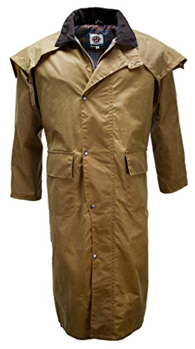 Oilskin Western Duster Drover Stockmans product image