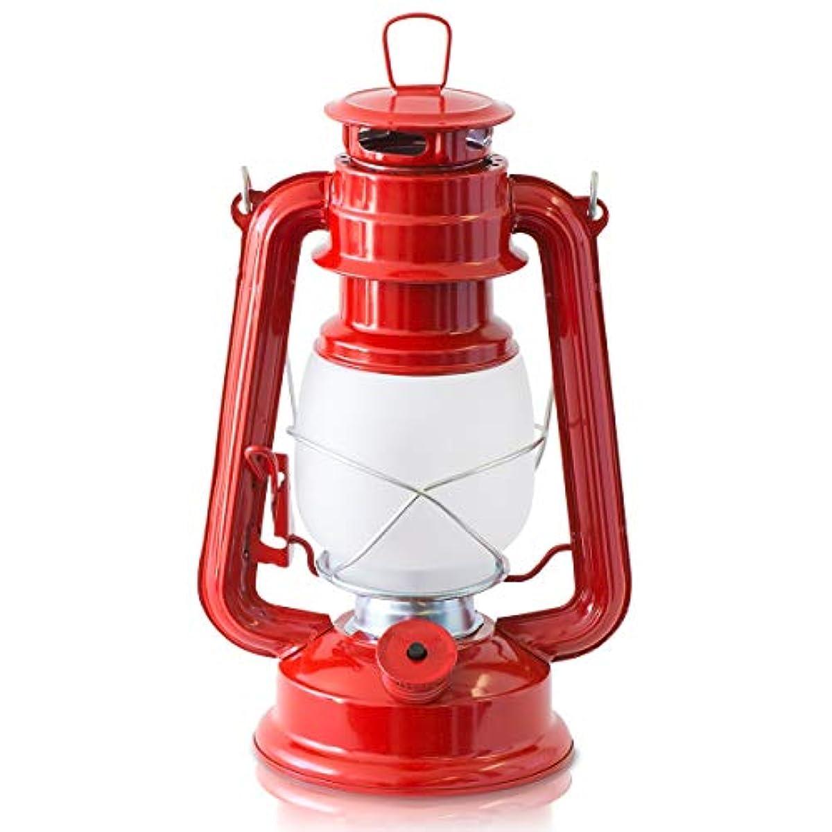[해외] FIELDOOR 앤틱 LED랜턴 동요 모드 교환 기능 첨부 【레드】 난색 밝기무 단계 조정 그랜드 ping 오너먼트 매달고 캠프 BBQ 오일 램프풍
