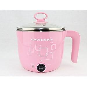 CHORBROS Electric Hot Pot with Egg Cooker 600W,Travel Pot,Personal pot,Cute Pot,Instant Noodles Pot,电火锅,学生锅
