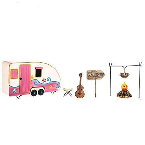Camping-Kit-Miniature-Home-Decor-Doll-House-Camping-Kit-Furniture-Set-Camping-Cake-Topper-Kit