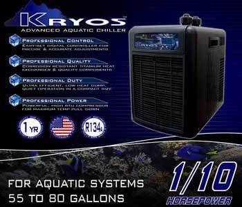 Deep Blue Professional ADB50010 Kryos Advanced Aquatic Chiller, 1/10 HP