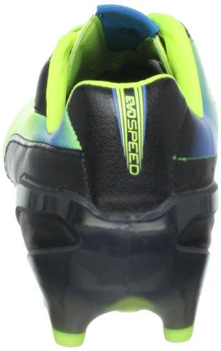 Puma Mens Evospeed 1,2 L Fg Tacchetta Da Calcio Nero / Giallo Fluorescente