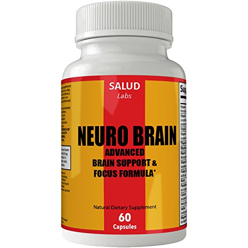 Vitaminas Para El Cerebro Para La Memoria Atención Y Concentración | Pastillas Para La Memoria y Atención, Concentración, Cogniva 100% Naturales | Para la mujer y hombre (60 Capsules) by nutra4health LLC