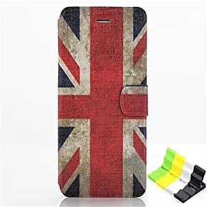LCJ British Flag Pattern PU Leather Full Body Case Have A Perfume and Phone Holder for iPhone 6 by ruishername