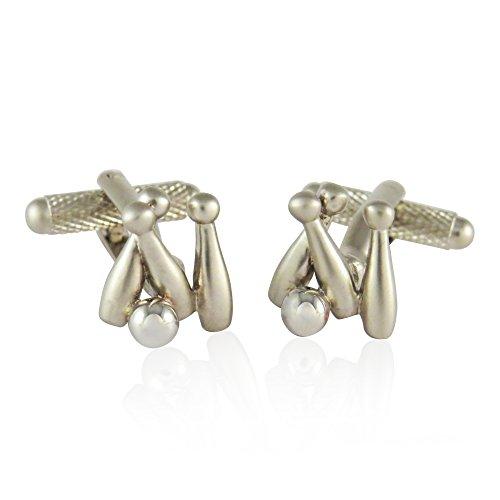 Ten Pin Bowling Cufflinks By Jewelry Mountain