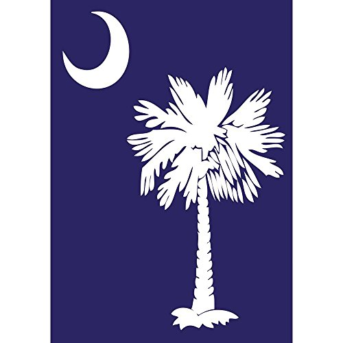 (Magnolia 01407 South Carolina Vertical Hang Garden Flag, 13