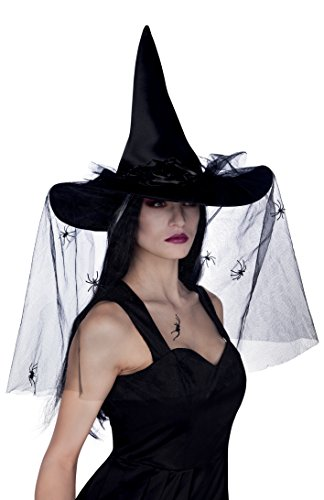 Boland 96985, Witch hat for Adults, Esmeralda