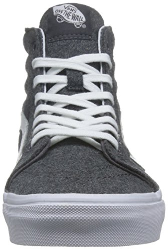 Scarpe Alte Da Uomo Vansity Sk8-hi Récepue (carboncino / Bianco) Da Uomo
