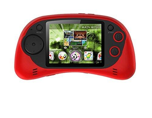 Handheld Portable Digital Screen 200 Preloaded Games , 2.7 Color Display RED