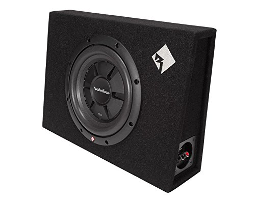 (Rockford Fosgate R2S-1X10 Prime R2S Single 10-Inch Shallow Loaded Enclosure)