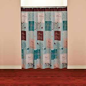 mainstays fabric shower curtain set home