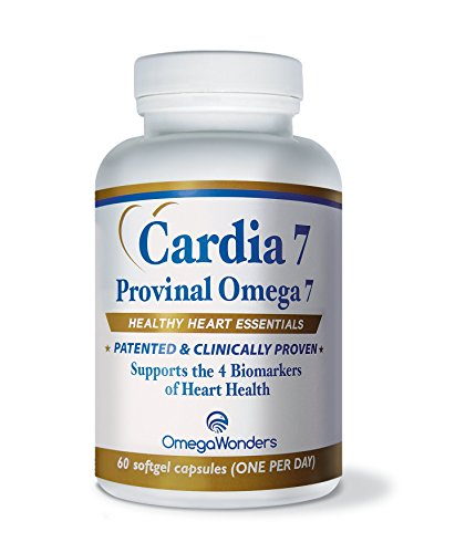 Seamaster Deville (Cardia 7 - Purified Provinal Omega 7 Fatty Acids -Compare to Omega 3-6-9 and See the Benefits, Clinically Validated -A Great No Fish Smell, No Burp-Back, No Fish Taste Alternative)