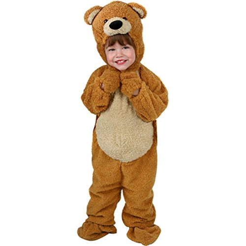 [Toddler Honey Bear Costume (Size: 2-4T)] (3 Bears Halloween Costumes)