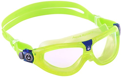 Aqua Sphere Seal Kid 2 Swim Goggle, Clear Lens / Lime new version ()