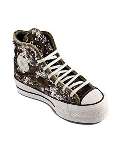 Femme Lift Smoke engine 207 Multicolore snow Taylor Chuck Sneakers Basses Hi black Converse Ctas White nB6qt0zw6v