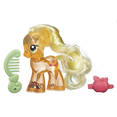 My Little Pony Explore Equestria Water Cuties Applejack Figure: Toys & Games