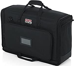 "Gator Cases Padded Nylon Carry Tote Bag for Transporting LCD Screens, Monitors and TVs Between 19"" - 24"" (G-LCD-TOTE-SM)"