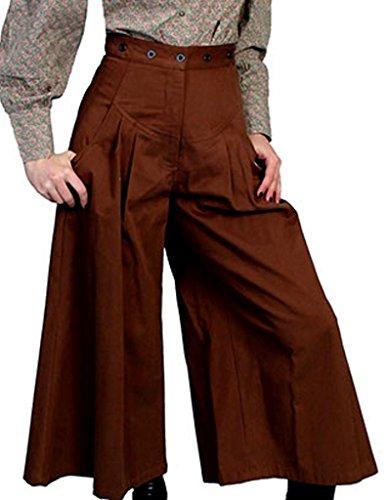 Scully Rangewear Women's Rangewear Brushed Twill Riding Pants Brown 18