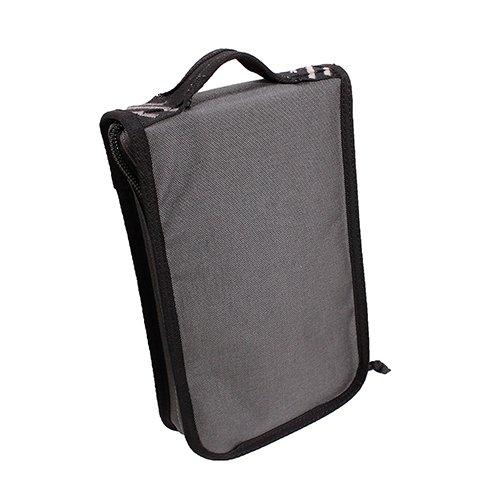 G Outdoors GPS-T1175PCG Tactical Pistol Case Range Backpack, Gray, Adjustable