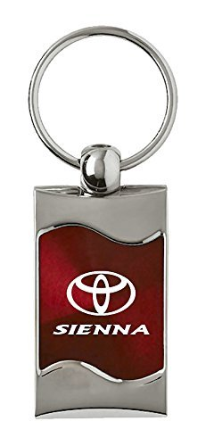 INC Toyota Sienna Rectangular Burgundy Fob Au-Tomotive Gold