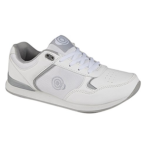 Womens Lace Style Trainer Ladies Dek Bowling Shoes up White Kitty 6nwxwv7