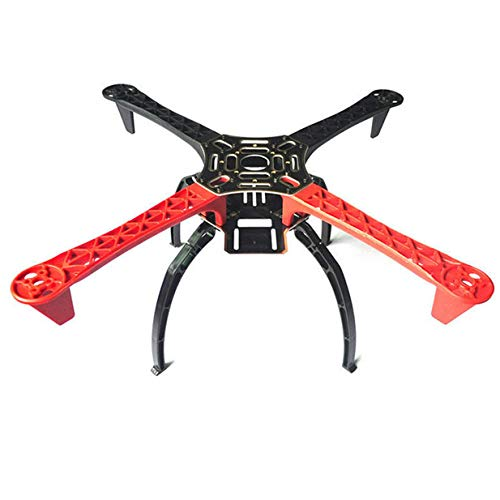 ShareGoo F450 4-Axis Multi Rotor Airframe 450mm Drone Frame Airframe FrameWheel with Landing Skid Gear for Quadcopter Aircraft Frame Kits