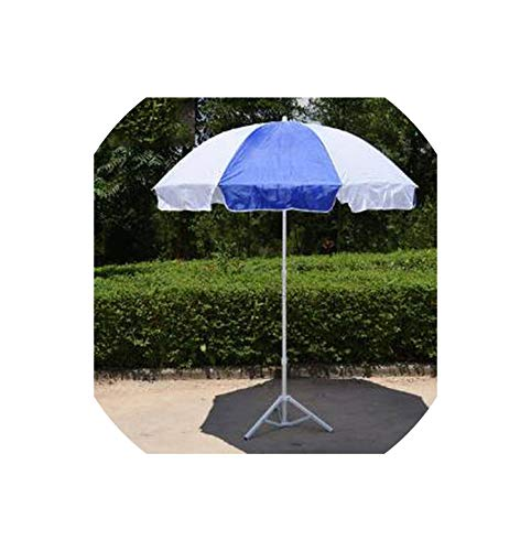 Outdoor Anti-Sun Rainproof Comfortable Strengthen The Base Windproof Awning Sun Umbrella Beach Umbrella,Triangle Base 2m