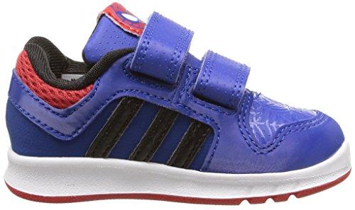 adidas LK Spider-Man CF I - Zapatillas unisex, color azul marino / rojo / negro