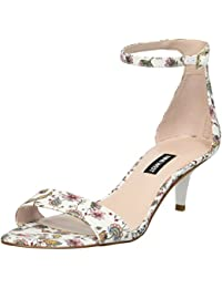 Women's Leisa Fabric Heeled Sandal