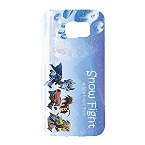 A Warcraft Tale Sniw Fight Cool Design Customized Slim Durable Hard Plastic 3D Case for Samsung Galaxy S6 waz68197