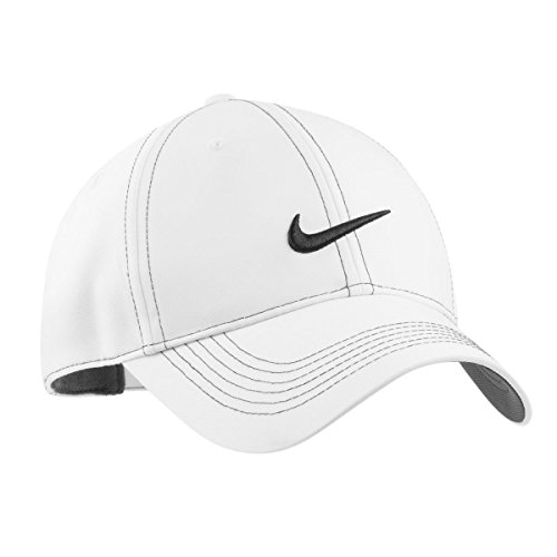 new style 86d13 eb161 Nike Golf - Swoosh Front Cap, 333114, White, No Size