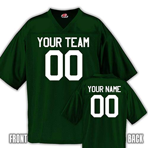 40ee6e8ecc6 Custom Football Jersey for Youth and Adult You Design Online in Adult 3X-Large  in