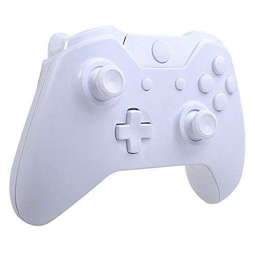 Matte Solid White Full Housing Shell Case with Buttons Free Tools for Microsoft Xbox One Controller