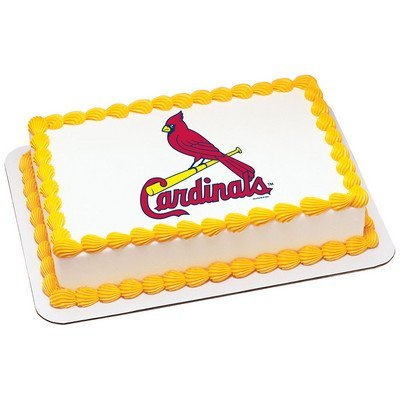 Price comparison product image St. Louis Cardinals Licensed Edible Cake Topper 4644