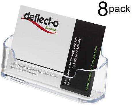8 unidades plástico transparente tarjetero pantalla oficina ...