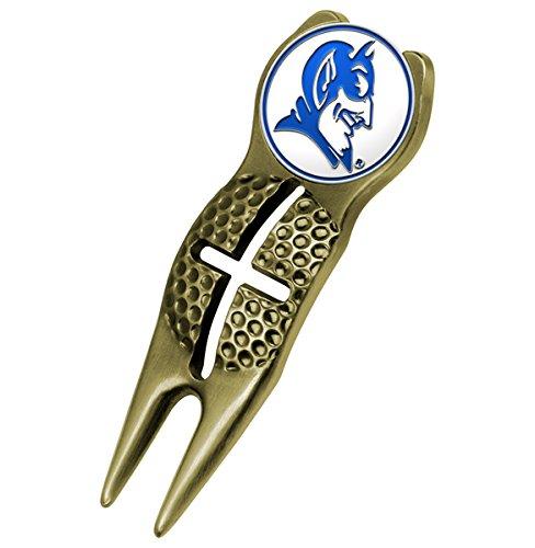 NCAA Duke Blue Devils - Crosshairs Divot Tool - Gold (Gear Golf Duke)