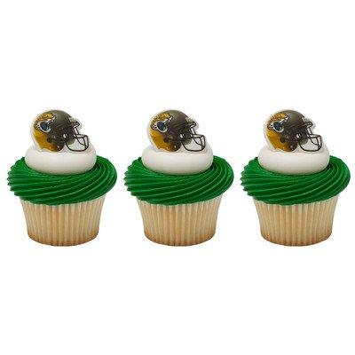 (24 ~ NFL Jacksonville Jaguars Helmet Ring ~ Designer Cake/Cupcake Topper ~ New!!!!! by)